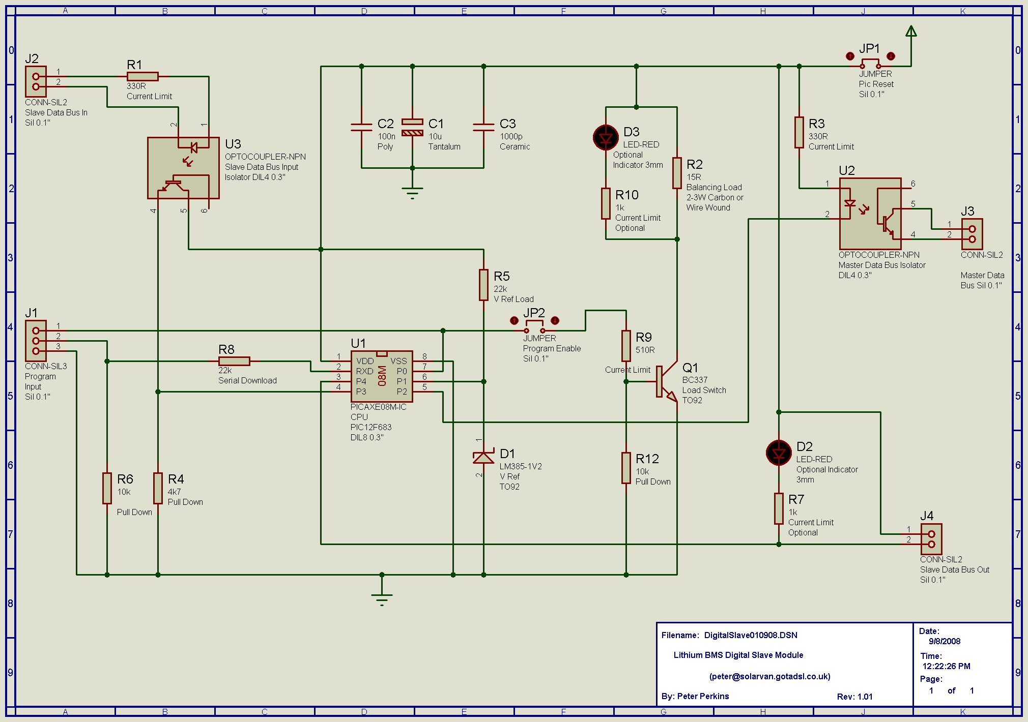 How To Draw A Schematic Bms - DIY Enthusiasts Wiring Diagrams •